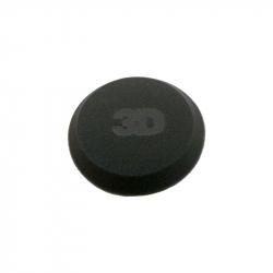 3D Applicator Black Foam - Полировальная губка-аппликатор с закрытыми порами, черная