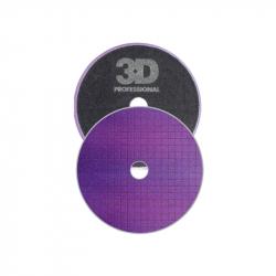 3D Light Purple Spider Polishing Pad - Полировальный круг лиловый универсальный, 165мм.