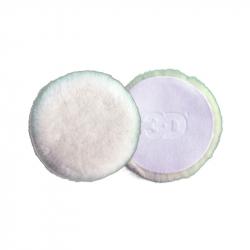 3D Pad White Wool 5 - Полировальный круг  из шерсти ягненка, 127мм