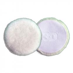 3D Pad White Wool 6 - Полировальный круг  из шерсти ягненка, 152мм