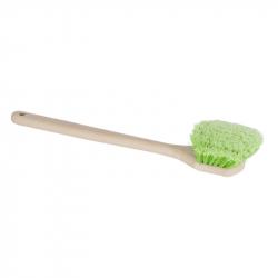 3D Heavy Duty Long Brush - Щетка с перьевой щетиной устойчива к кислотам и моющим средствам, большая