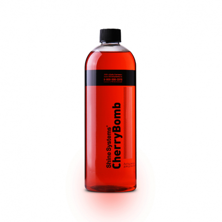 Shine Systems CherryBomb Shampoo - Автошампунь для ручной мойки, 750 мл