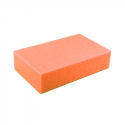 Shine Systems Губка для мойки дисков оранжевая 200*125*45мм