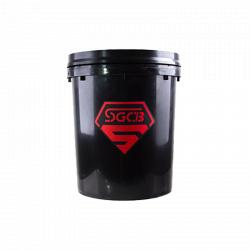 SGCB Ведро для мойки автомобилей без сепаратора (с ободом), 20 л, черное