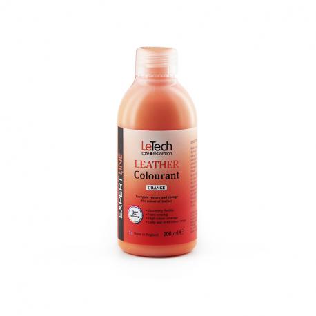 LeTech Expert Line Leather Colourant Orange (200ml) - Краска для кожи Оранжевый