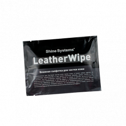Shine Systems LeatherWipe - влажная салфетка для чистки кожи, 1 шт