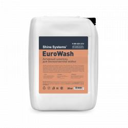 Shine Systems EuroWash - активный шампунь для бесконтактной мойки, 20 кг