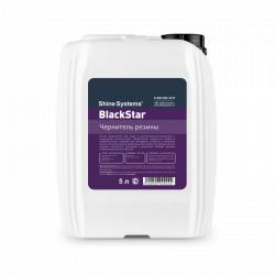 Shine Systems BlackStar - чернитель резины, 5 л