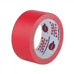 EUROCEL Маскирующая термостойкая лента 25мм*50м, красная