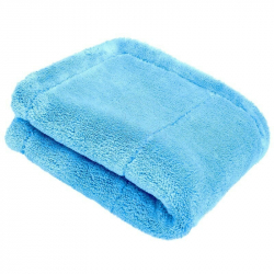 PURESTAR Plush Edgeless Premium Towel - Полировальное двухслойное полотенце, 40*40см., 480 г/м2