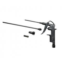 JETA PRO Пистолет продувочный с набором сопел (20мм,50мм,80мм) (алюминиевый корпус)