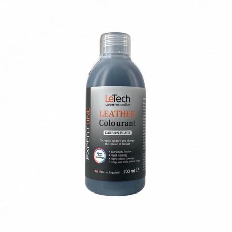 LeTech Furniture Clinic Expert Line Leather Colourant CarbonBlack - Краска для кожи Черн.Уголь 200мл