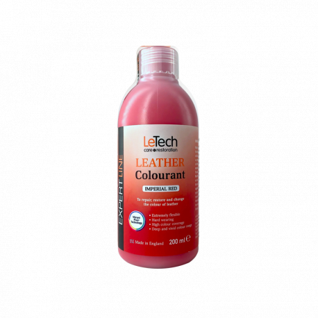 LeTech Furniture Clinic Expert Line Leather Colourant Imperial Red - Краска для кожи Красный 200мл