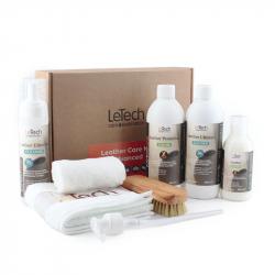 LeTech Furniture Clinic Expert Line Leather Care Kit Advanced - Большой набор для ухода за кожей