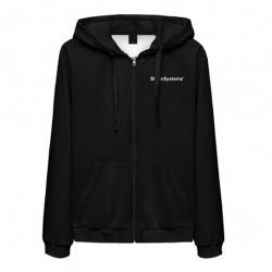 Shine Systems Толстовка черная с логотипом на молнии размер XL