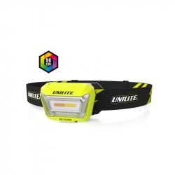 UNILITE Налобный сенсорный фонарь  3 цвета, CRI 96+, 200 Lm, 1500 mAh, IPX5