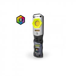 UNILITE Инспекционный фонарь CRI 96+, 1250 Lm, 3 цвета + УФ, 5000 mAh