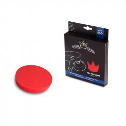 Royal Pads Soft Pad Polishing - Полировальный круг финишный антиголограммный мягкий красный 80 мм