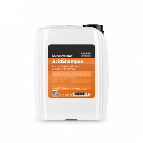 Shine Systems AcidShampoo - кислотный шампунь для ручной мойки, 5 л