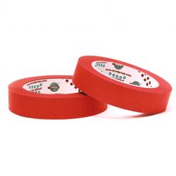 EUROCEL Маскирующая термостойкая лента 19мм*50м, красная