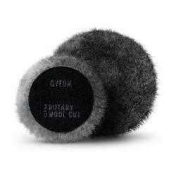 GYEON Rotary Wool Cut Q²M - Меховойполировальныйкруг агрессивный для роторных машин 130 мм