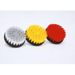 AMR Diameter Direct Mount Rotary Brush - Набор из 3-х щеток для чистки интерьера на шуруповерт