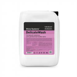 Shine Systems DelicateWash - активный шампунь для деликатной мойки авто, 20 кг