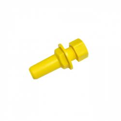 Гайка-штуцер пластиковая 6 мм для D25RE2/D400RE