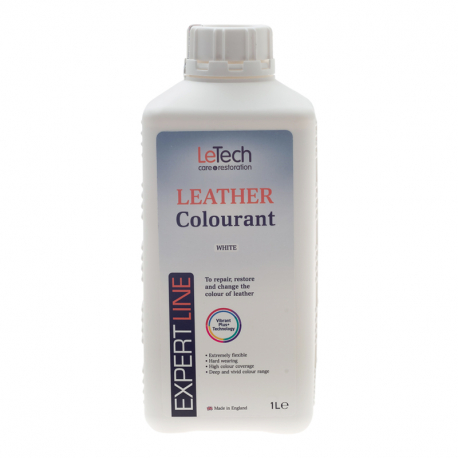 LeTech Expert Line Leather Colourant White (1000ml) - Краска для кожи Белый