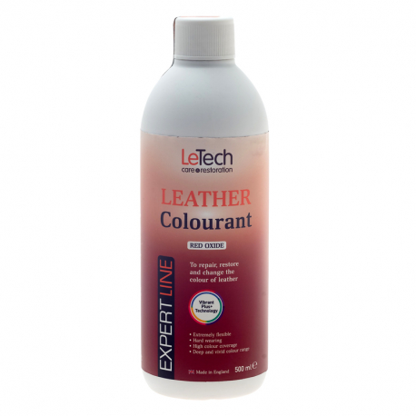 LeTech Expert Line Leather Colourant Red Oxide (500ml) - Краска для кожи Красный Оксид