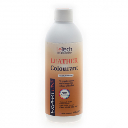 LeTech Expert Line Leather Colourant Yellow Oxide (500ml) - Краска для кожи Желтый Оксид