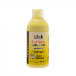 LeTech Expert Line Leather Colourant Lemon Yellow (200ml) - Краска для кожи Лимонно-желтый