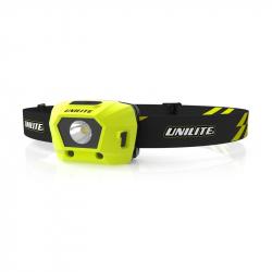 UNILITE Налобный сенсорный фонарь 275 Lm COB, 1800 mAh,  IPX6