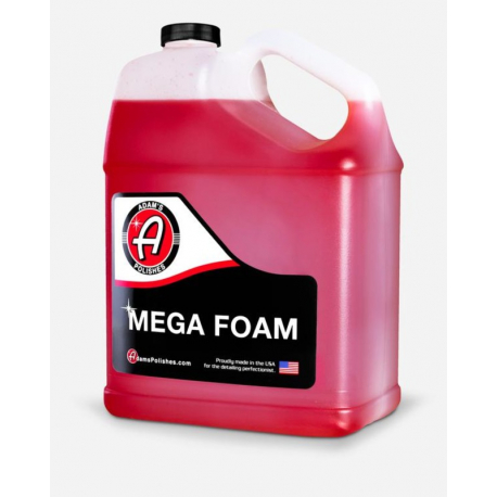 Adam's Mega Foam - Пенный концентрированный шампунь для мойки автомобиля, 3,79л