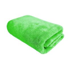 PURESTAR Twist Drying Towel Green - Сушащее мягкое полотенце из микрофибры, зел. 70*90см., 530 г/м2
