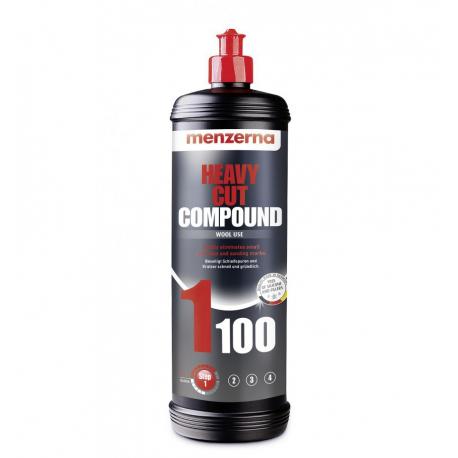 MENZERNA Heavy Cut Compound 1100 (PG500) Одношаговая полировальная паста 1 кг.